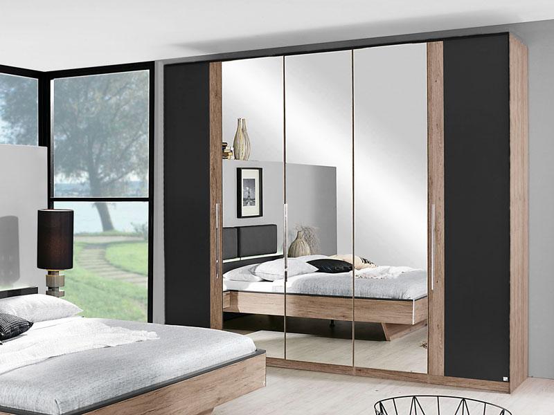 rauch dreht renschrank colette dialog kleiderschrank mit spiegel w hlbar ebay. Black Bedroom Furniture Sets. Home Design Ideas