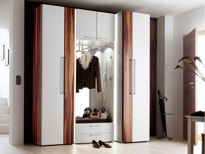 wittenbreder entree komplette garderobe flur kombi garderobe hochschrank neu ebay. Black Bedroom Furniture Sets. Home Design Ideas