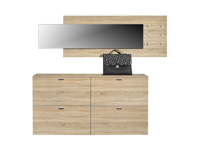 arte m programm garderoben garderobe 3 teilig schuhschrank h ngend w hlbar ebay. Black Bedroom Furniture Sets. Home Design Ideas