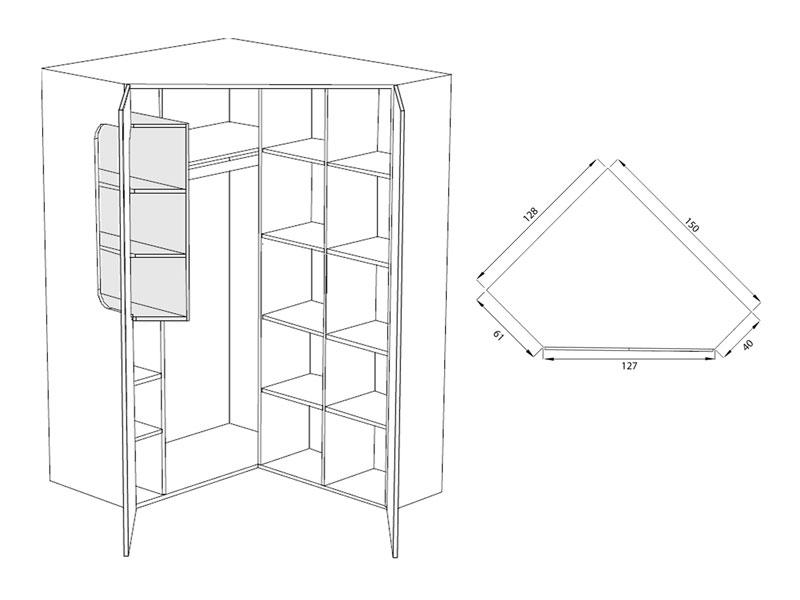 max-i jugendzimmer rudolf möbel 4-teiliges komplettangebot mit