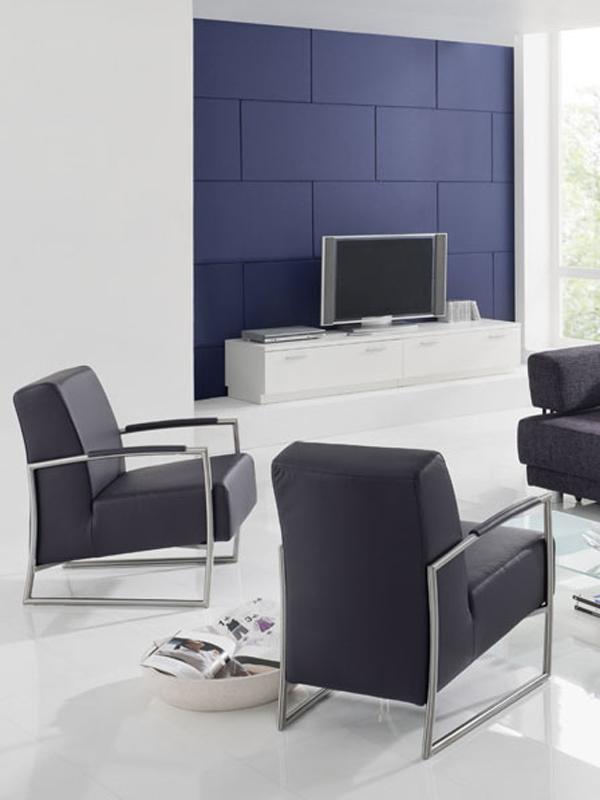 k w joy sessel kw m bel hochwertiger sessel in leder longlife und kunstleder ebay. Black Bedroom Furniture Sets. Home Design Ideas