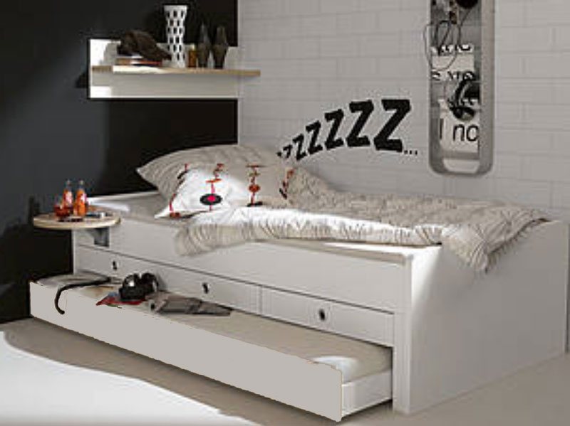 wellem bel jugenzimmer bett tremo tamtam kojenbett in reinweiss rosales w hlbar ebay. Black Bedroom Furniture Sets. Home Design Ideas