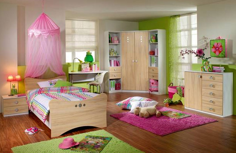 rauch leoni kinderzimmer 6teilig bett nachttisch eckkleiderschrank kommode regal ebay. Black Bedroom Furniture Sets. Home Design Ideas