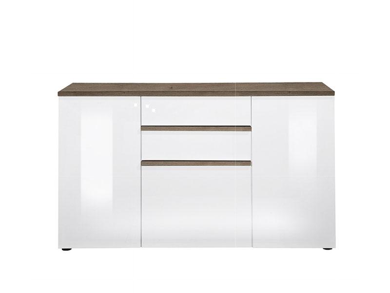 arte m linea w kommode sideboard wohnzimmer hochglanz ausf hrung w hlbar ebay. Black Bedroom Furniture Sets. Home Design Ideas