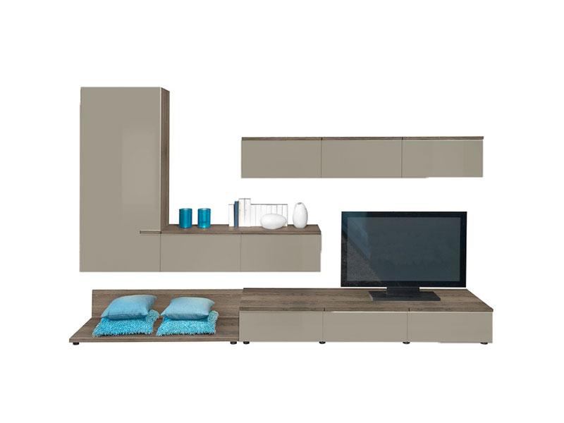 arte m linea w wohnwand 5tlg anbauwand vorschlagskombination ausf hrung w hlbar ebay. Black Bedroom Furniture Sets. Home Design Ideas