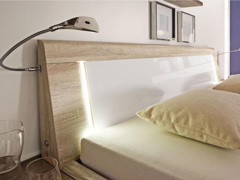 Schlafzimmer Luna von Loddenkemper Eiche macao HNB Ausführung ...