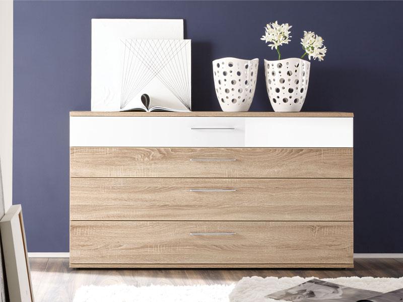 schubkastenkommode luna eiche macao hnb von loddenkemper. Black Bedroom Furniture Sets. Home Design Ideas