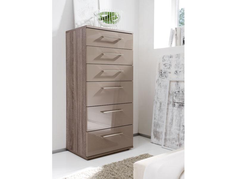 schubkastenkommode luna eiche havanna hnb von loddenkemper. Black Bedroom Furniture Sets. Home Design Ideas