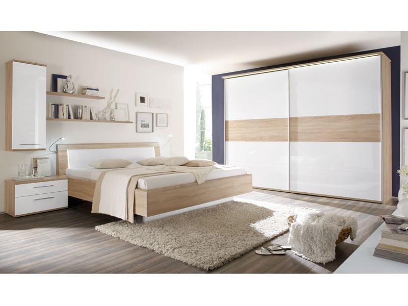 Details zu Schlafzimmer Luna von Loddenkemper Eiche macao HNB Ausführung  wählbar