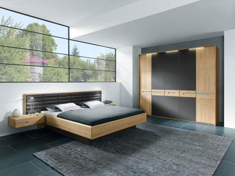 massivholz schlafzimmer casa thielemeyer bett. Black Bedroom Furniture Sets. Home Design Ideas