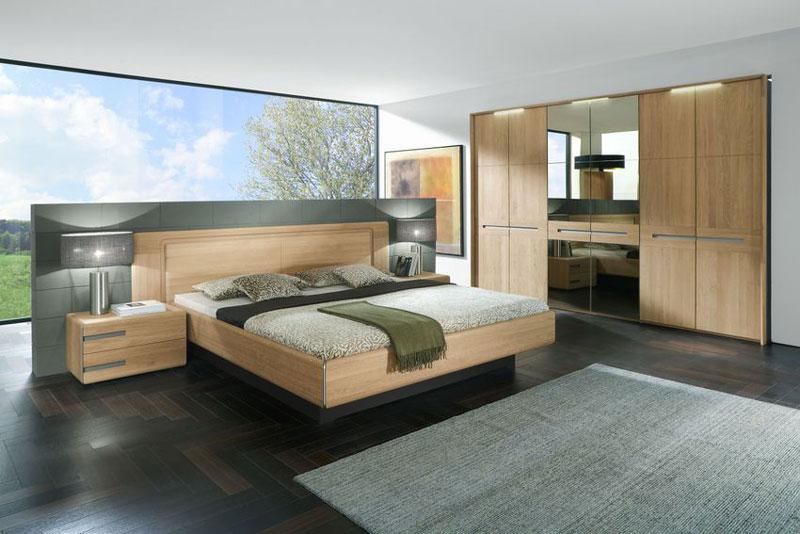massivholz schlafzimmer casa thielemeyer bett kleiderschrank