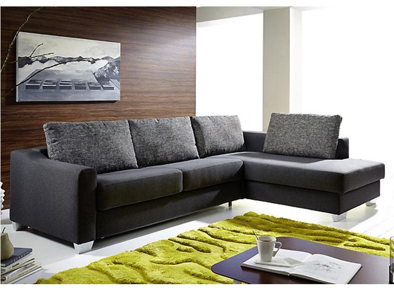 marlen schlafsofa mit longchair f r wohnzimmer oder ferienwohnung bei online. Black Bedroom Furniture Sets. Home Design Ideas