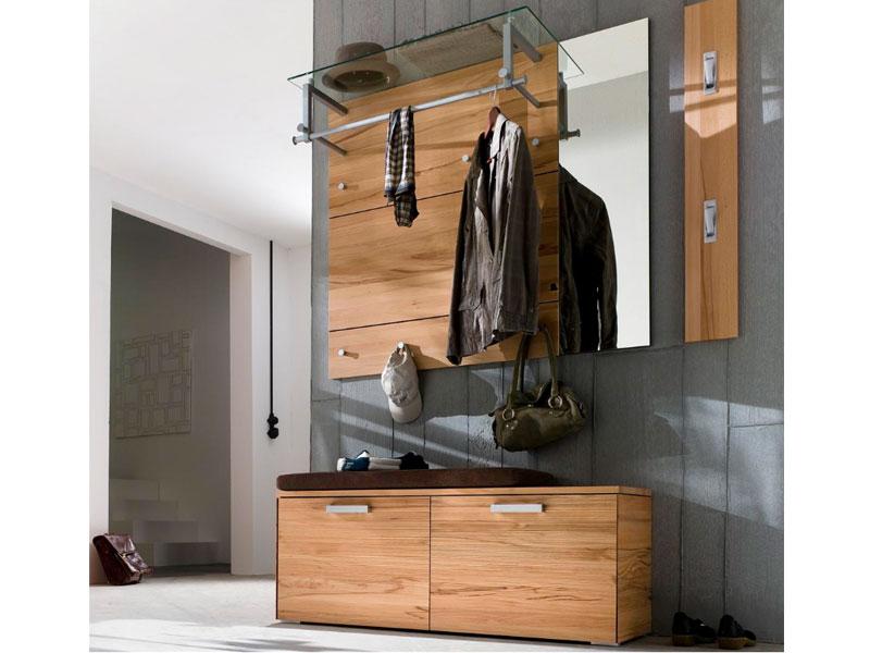 wittenbreder massello spiegel garderoben paneel garderoben bank kernbuche massiv ebay. Black Bedroom Furniture Sets. Home Design Ideas