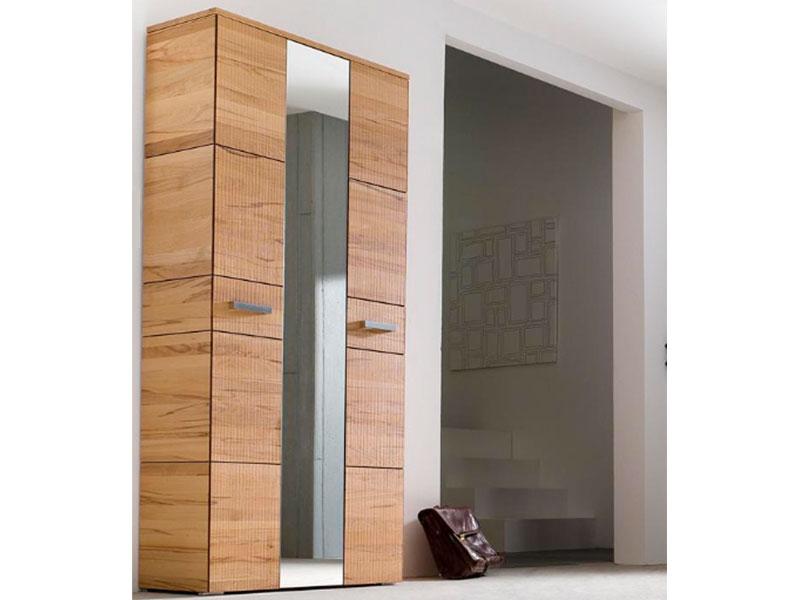 wittenbreder massello 510 kompakt garderobe spiegel flur kernbuche massiv neu ebay. Black Bedroom Furniture Sets. Home Design Ideas