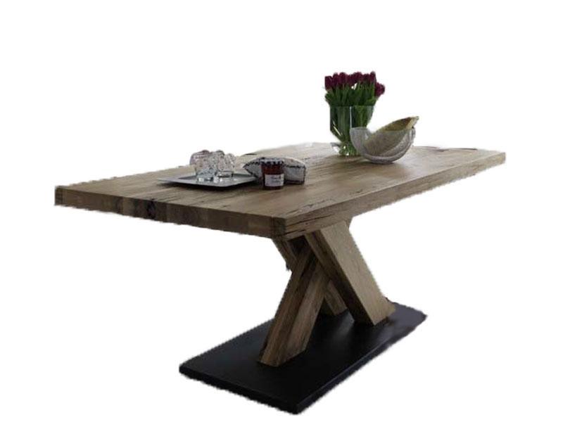 niehoff esstisch 4173 tisch massivholztisch balkeneiche. Black Bedroom Furniture Sets. Home Design Ideas