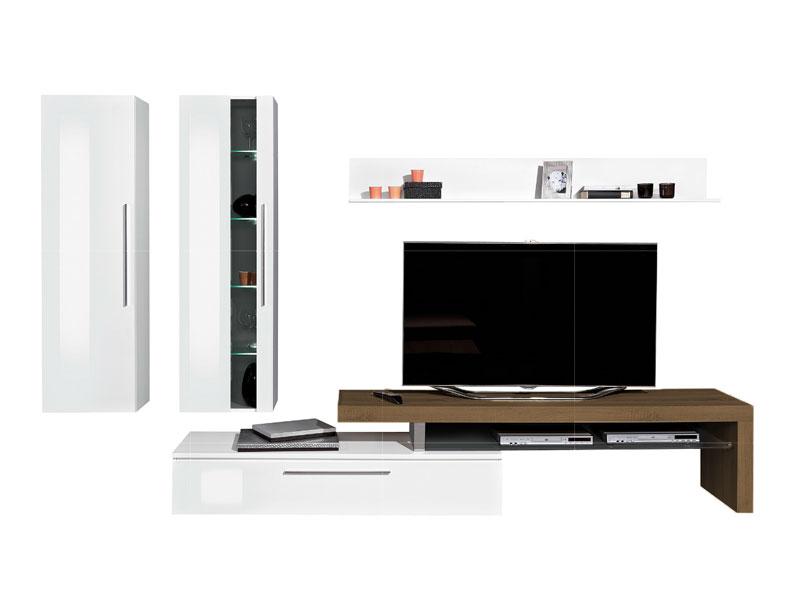 Arte m medio wohnwand 2x h ngeelement tv element und wandboard variante w hlbar ebay - Arte m wohnwand ...