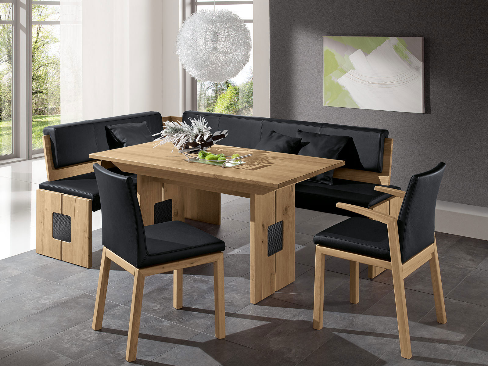 esstischgruppe mit eckbank. wssner eckbankgruppe dining collection, Modern Dekoo