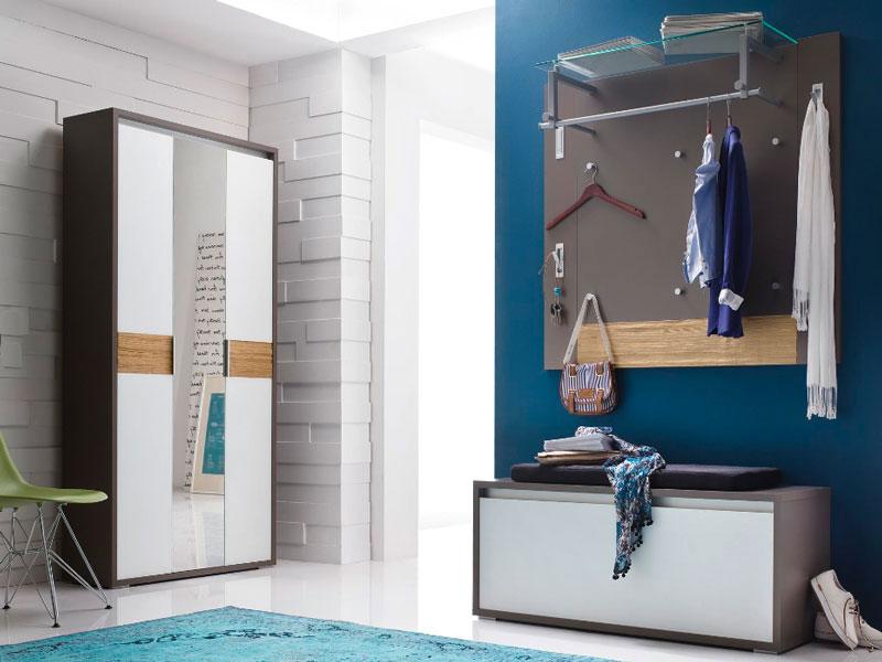 wittenbreder muchele komplette garderobe vorschlagskombination 07 f r flur mit truhe kompakt. Black Bedroom Furniture Sets. Home Design Ideas