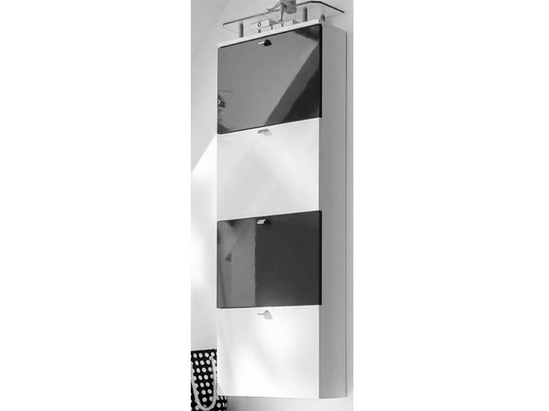 Wittenbreder multi color una 140 schuh klappschrank for Schuhschrank 16 cm tief