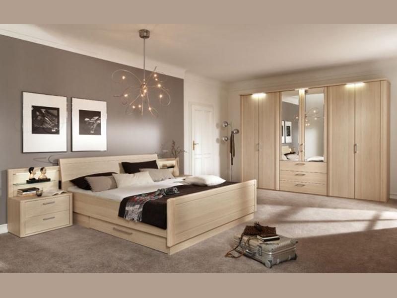 Loddenkemper Moreno Schlafzimmer Kleiderschrank Doppelbett