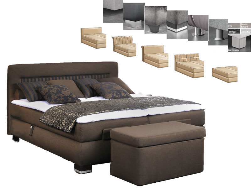 oschmann prestige boxspringbett bett f r schlafzimmer gr e stoffgruppe w hlbar ebay. Black Bedroom Furniture Sets. Home Design Ideas