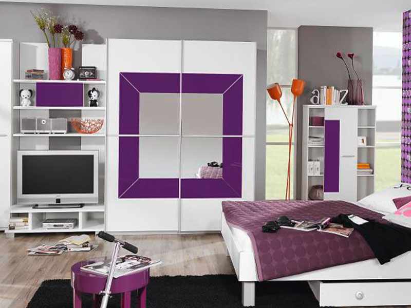 rauch jugendzimmer georgia schwebet renschrank farbabsetzung glas w hlbar ebay. Black Bedroom Furniture Sets. Home Design Ideas