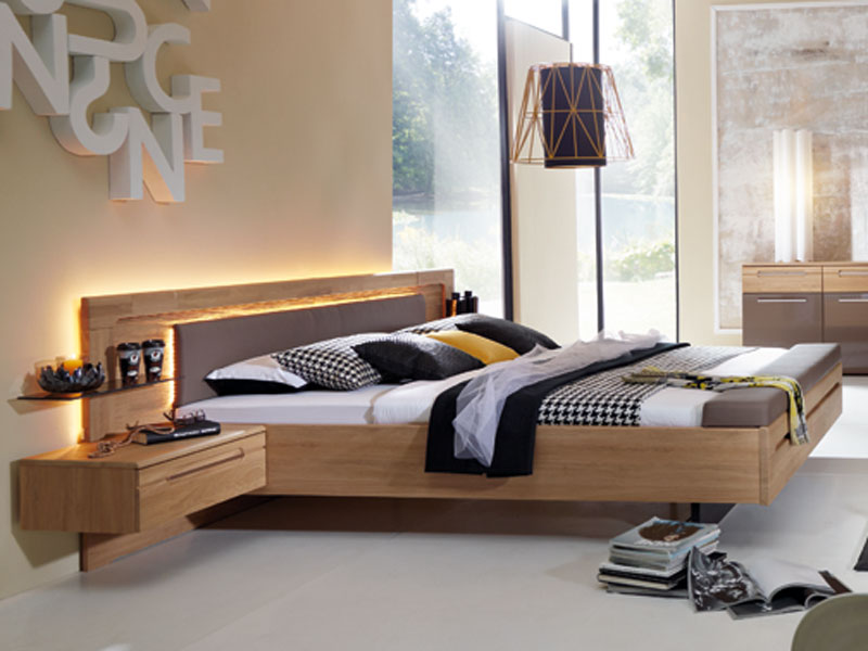 rauch steffen tovalo bett mit kopfteil teilmassiv neu. Black Bedroom Furniture Sets. Home Design Ideas
