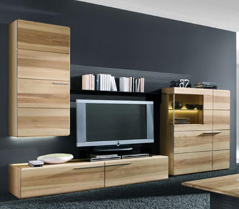 thielemeyer atena wohnzimmer wohnwand 15 massivholz ausf hrung w hlbar neu ebay. Black Bedroom Furniture Sets. Home Design Ideas