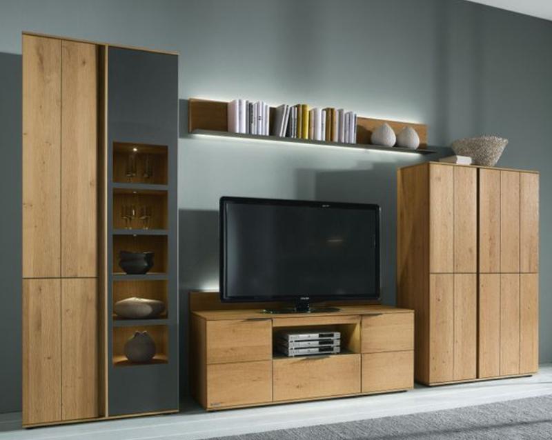 Wohnzimmermöbel Massiv Modern  vtfallscom