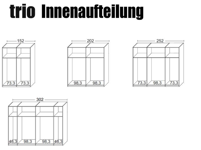 arte m trio schwebet renschrank absetzung nussbaum hn 2x glas schwarz ebay. Black Bedroom Furniture Sets. Home Design Ideas