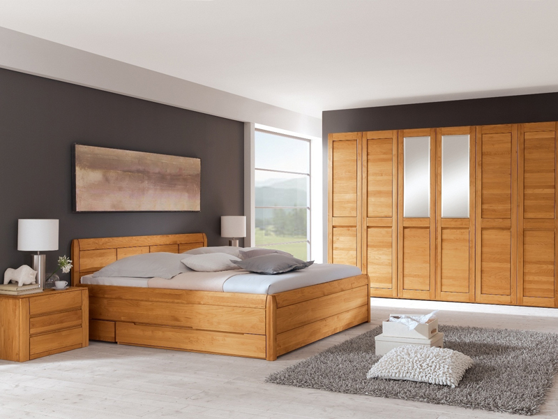 schlafzimmer gamma eco von ims living erle massiv. Black Bedroom Furniture Sets. Home Design Ideas