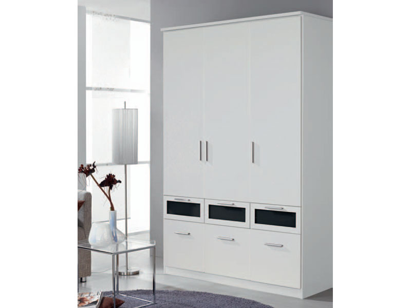 kleiderschrank bochum rauch pack s dreht renschrank mit absetzung farben w hlbar ebay. Black Bedroom Furniture Sets. Home Design Ideas