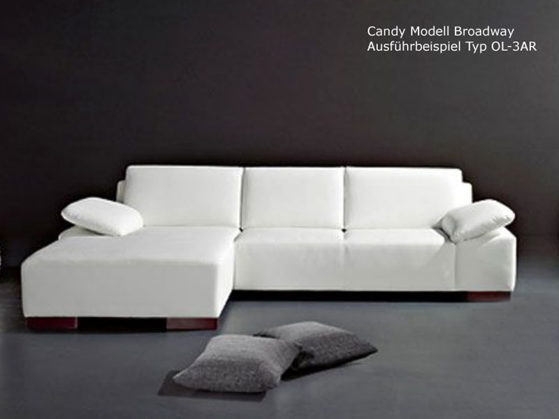 candy ecksofa broadway sofa 3 sitzer ottomane polsterecke polsterm bel w hlbar ebay. Black Bedroom Furniture Sets. Home Design Ideas