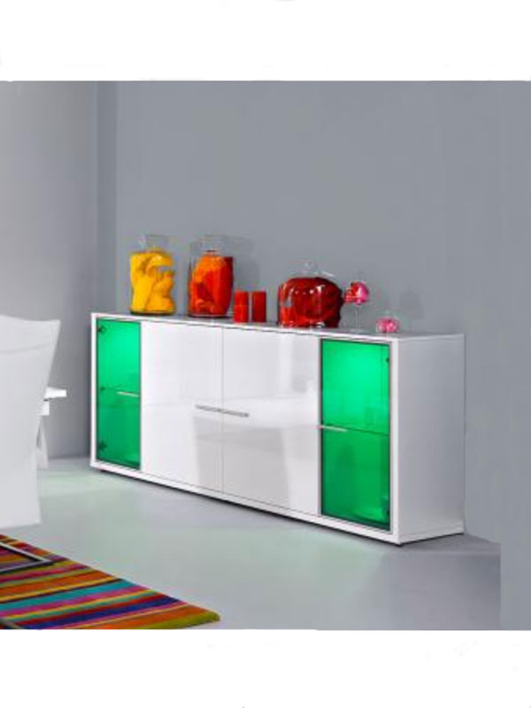 arte m game plus sideboard weiss hg kommode esszimmer wohnzimmer ebay. Black Bedroom Furniture Sets. Home Design Ideas