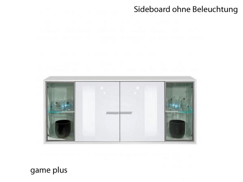 Arte M Game Plus Sideboard Weiss HG Esszimmer Wohnzimmer