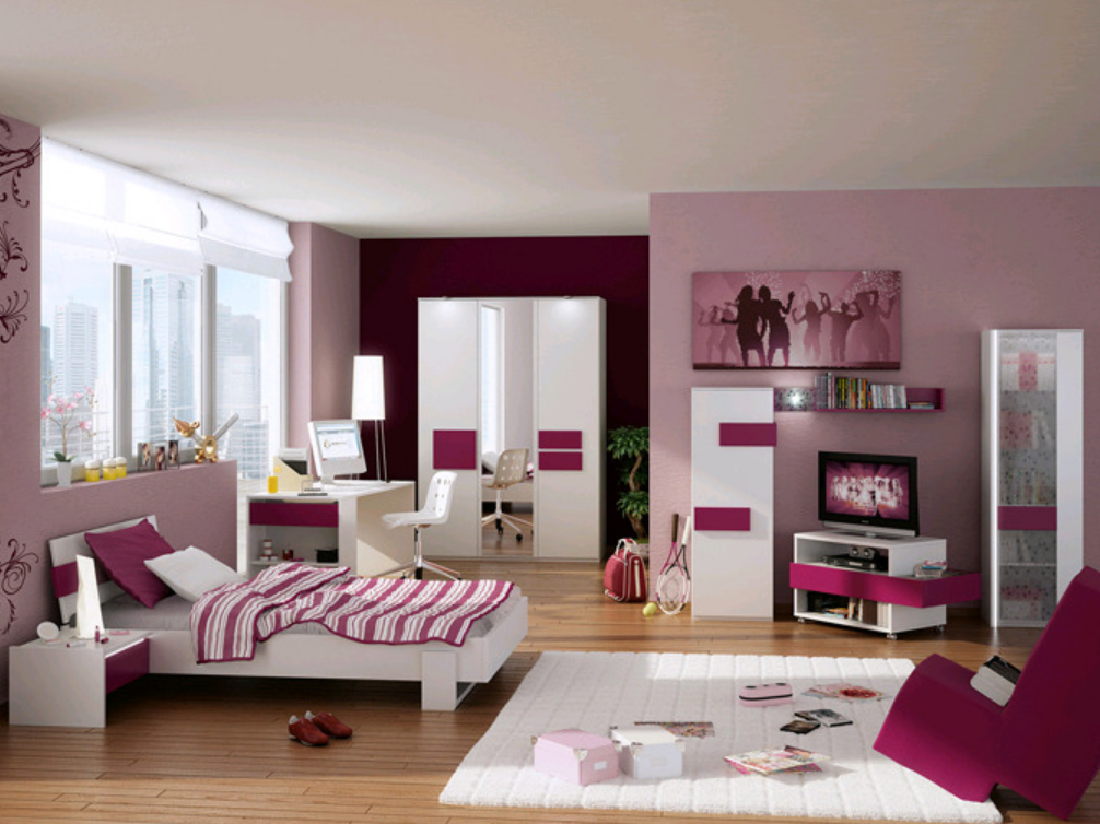 r hr bush hilight jugendzimmer mit applikation g nstig online kaufen. Black Bedroom Furniture Sets. Home Design Ideas