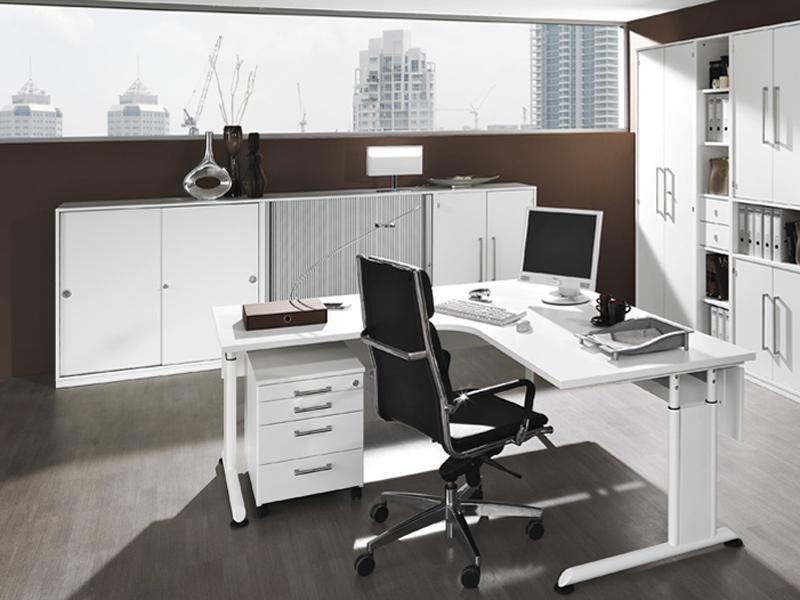 Eckschreibtisch büro  Wellemöbel Büromöbel Hyper Büro Welle Möbel Eckschreibtisch 5 ...