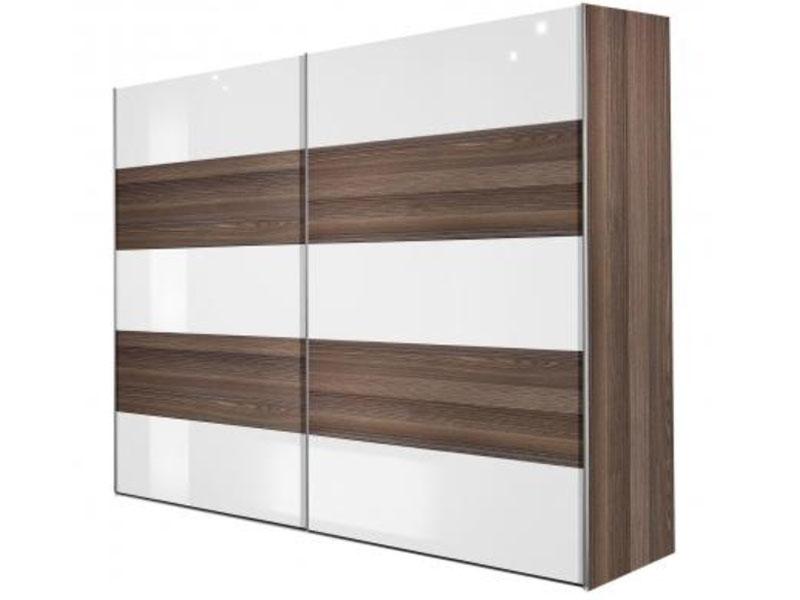 arte m inline kleiderschrank mit schiebet r g nstig online. Black Bedroom Furniture Sets. Home Design Ideas
