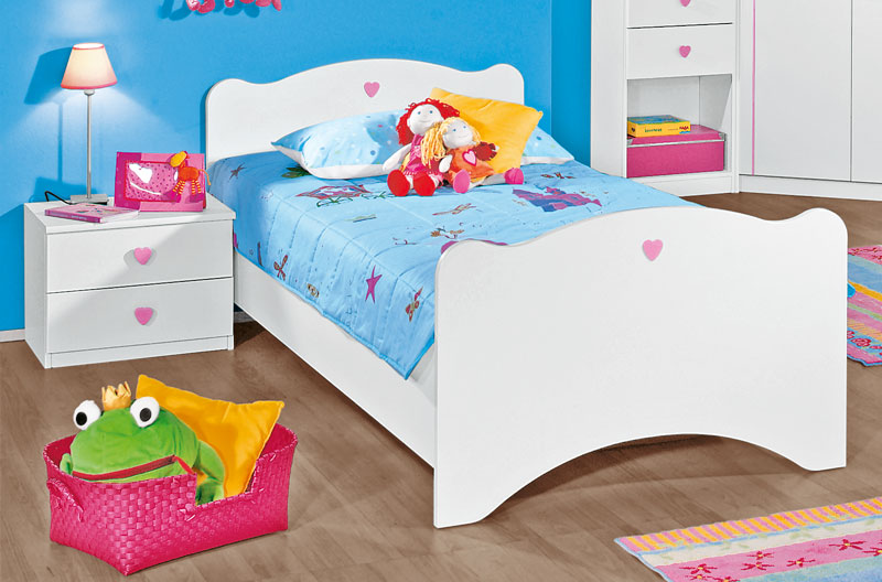 rauch joy kinderbettgestell kinderzimmer kinderbett bett top neu ebay. Black Bedroom Furniture Sets. Home Design Ideas