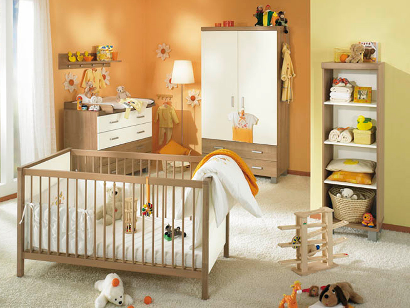 paidi leo babyzimmer kinderzimmer kirsche havanna ecru ebay. Black Bedroom Furniture Sets. Home Design Ideas