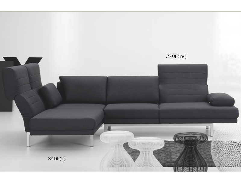 ewald schillig columbo ecksofa sofa 2 sitzer anbausofa relaxfunktion ebay. Black Bedroom Furniture Sets. Home Design Ideas