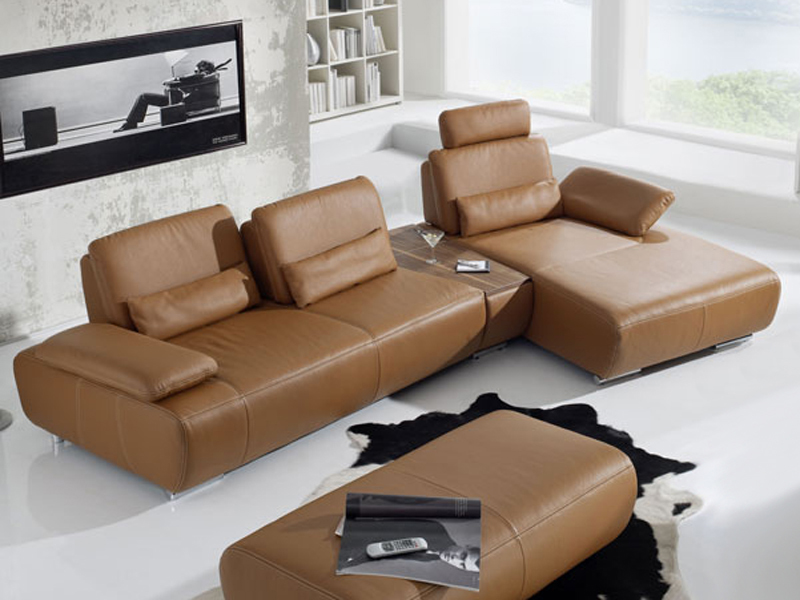 leder sofa garnitur k w miami kw m bel eck couch. Black Bedroom Furniture Sets. Home Design Ideas