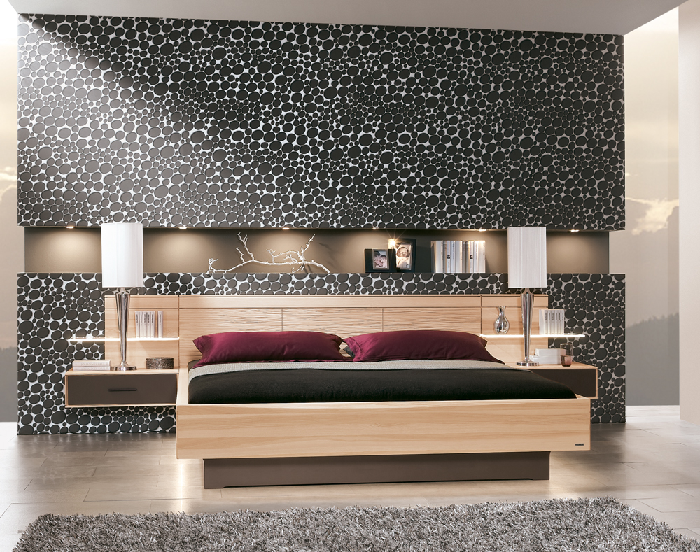 schlafzimmer mira von thielemeyer in strukturesche. Black Bedroom Furniture Sets. Home Design Ideas