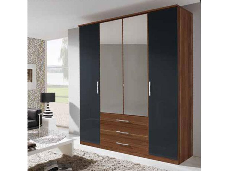 rauch packs spiegel kleiderschrank modena dreht renschrank kombischrank auswahl ebay. Black Bedroom Furniture Sets. Home Design Ideas