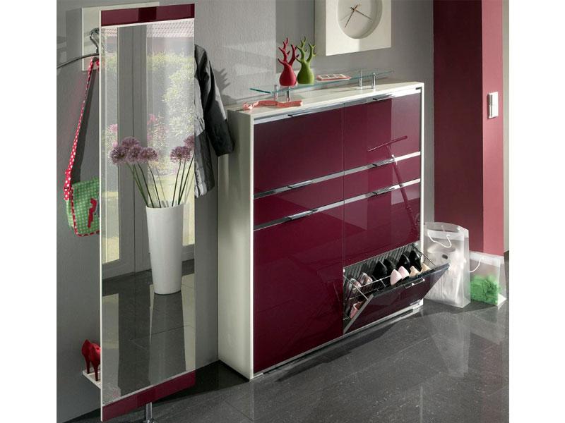 wittenbreder multi color tre mehrzweckschrank spiegel garderobe schrank top neu ebay. Black Bedroom Furniture Sets. Home Design Ideas
