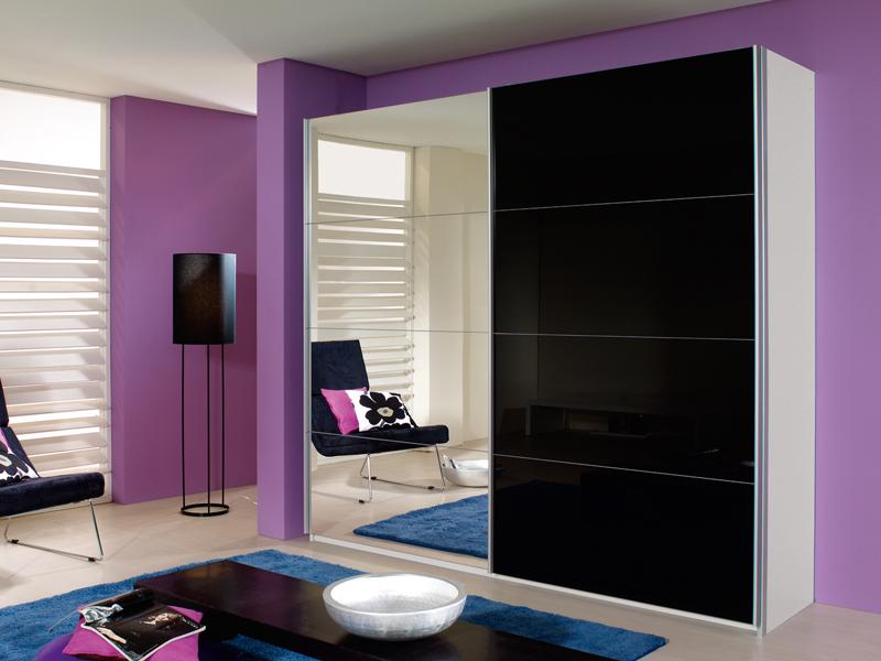 rauch quadra schwebet renschrank 4x spiegel 4x glas gr e w hlbar neue h he ebay. Black Bedroom Furniture Sets. Home Design Ideas
