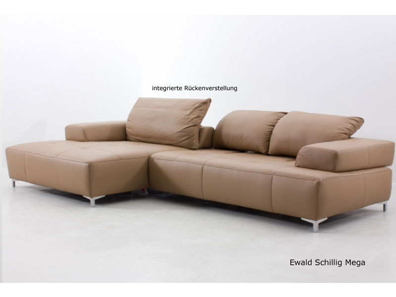 ewald schillig mega ecksofa sofa 2 sitzer clubchair. Black Bedroom Furniture Sets. Home Design Ideas