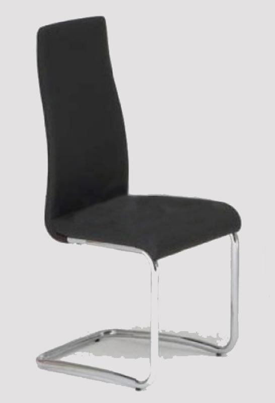 niehoff stuhl freischwinger 4521 in kunstleder oder. Black Bedroom Furniture Sets. Home Design Ideas