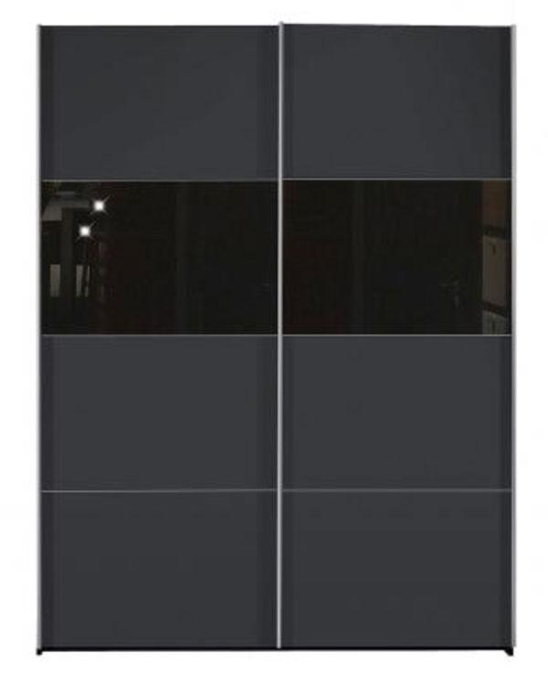 arte m style kleiderschrank mit schiebet r g nstig online kaufen schlafzimmerschrank. Black Bedroom Furniture Sets. Home Design Ideas