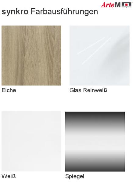 arte m synkro panoramaschrank kleiderschrank schwebet renschrank eiche hn ebay. Black Bedroom Furniture Sets. Home Design Ideas